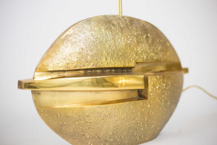 pragos lampe bronze doré sculpture