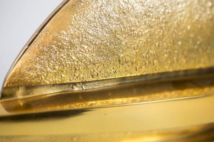 pragos lampe bronze doré surface