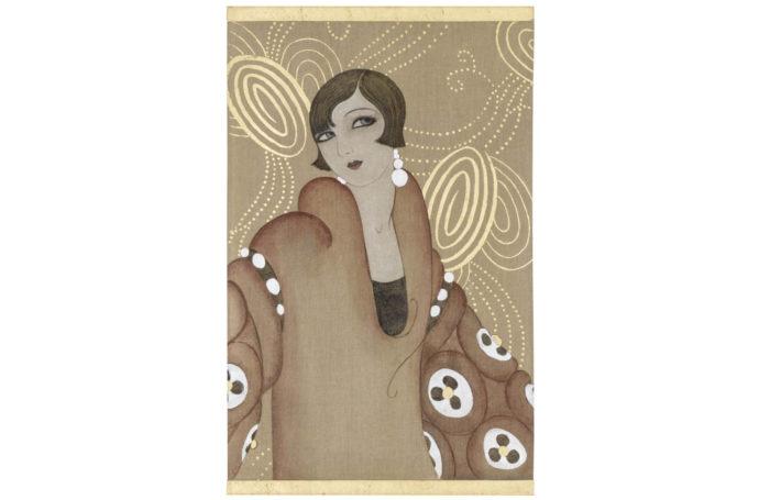 canvas art deco woman