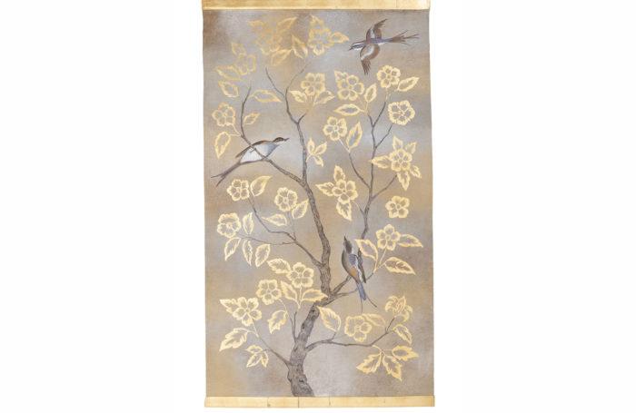 canvas birds branches