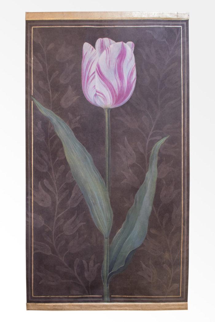 toile tulipe