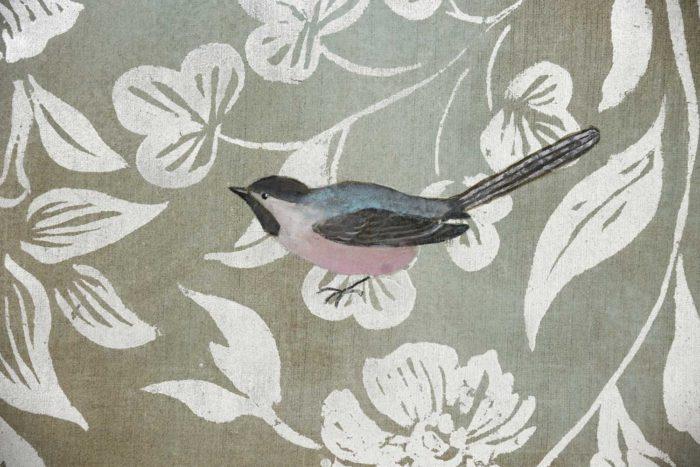 toiles oiseaux détail
