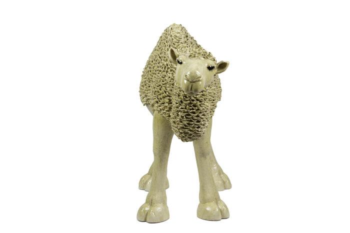 valérie courtet sculpture dromadaire face