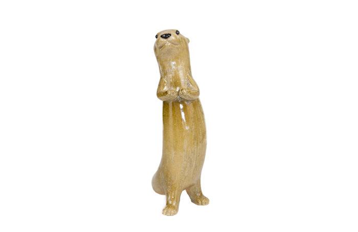 valérie courtet sculpture otter