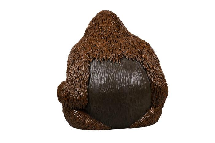 valérie courtet sculpture orang outan dos