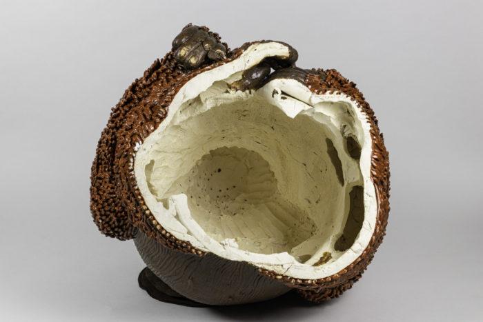 valérie courtet sculpture orang outan intérieur
