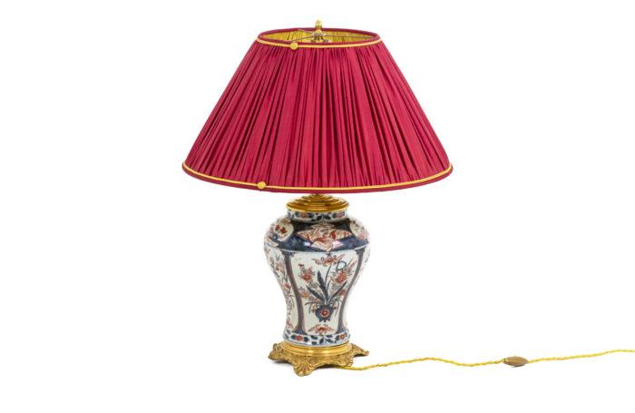 Lampe Imari - face