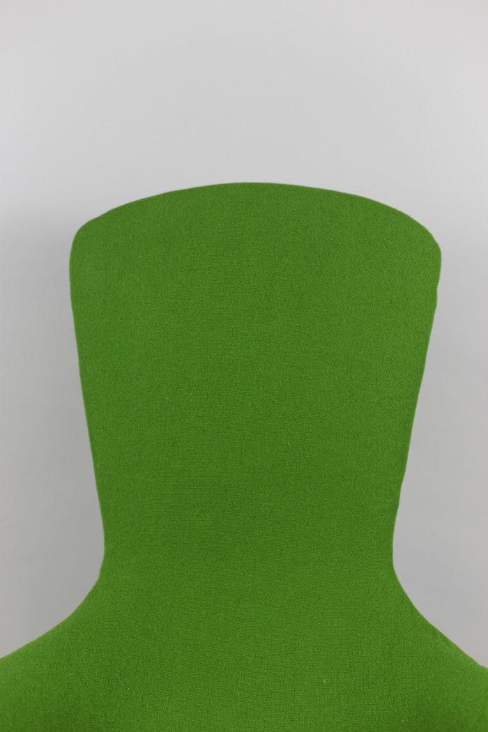 knoll harry bertoia bird armchair back