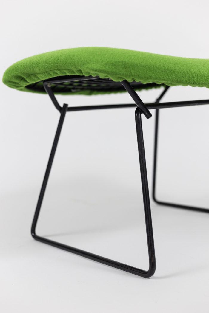 knoll harry bertoia bird armchair ottomane leg
