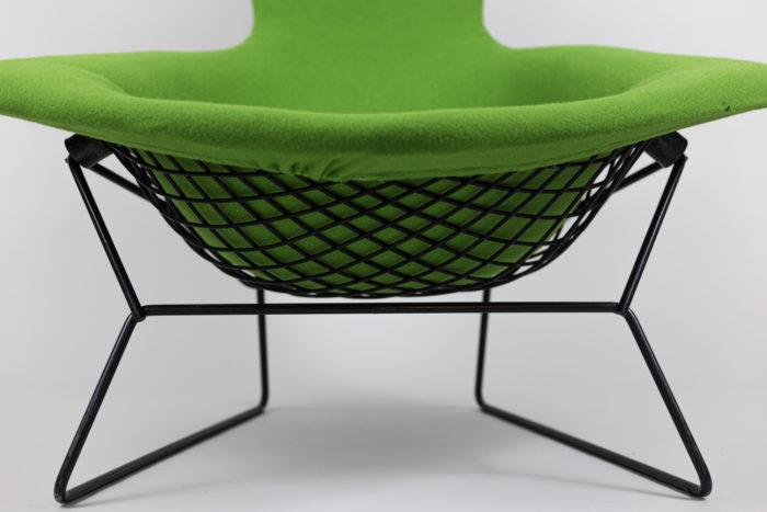 knoll harry bertoia bird armchair legs