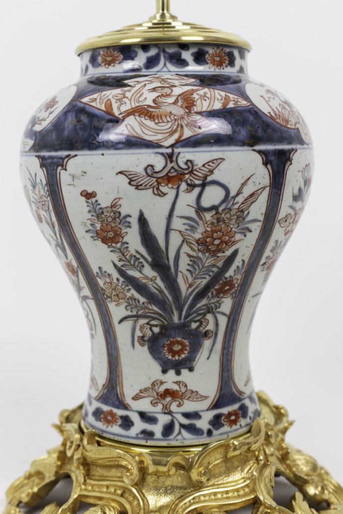 lampe porcelaine imari