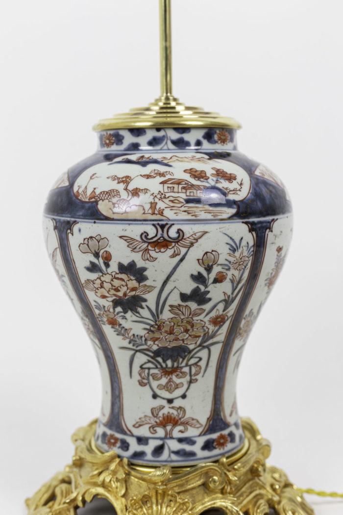 lampe porcelaine imari vases
