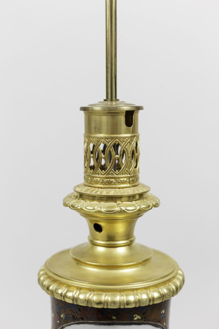 lamps japanese porcelaine gilt bronze mount