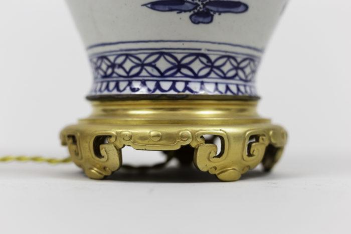 lamps japanese porcelain gilt bronze base