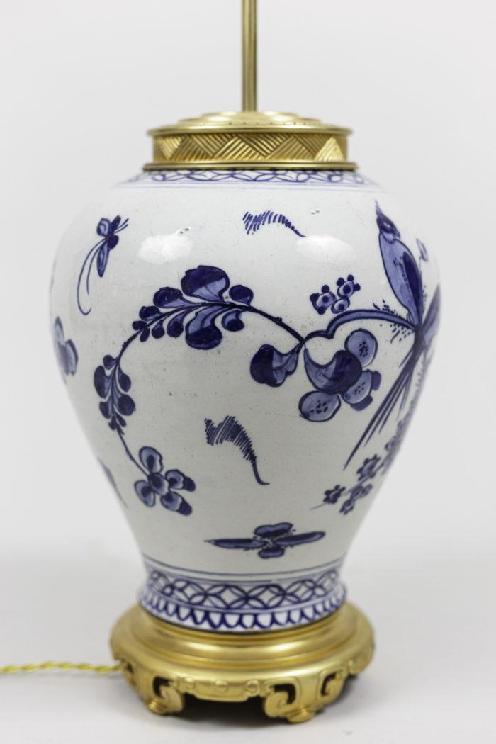 lamps japanese porcelain blue white decor