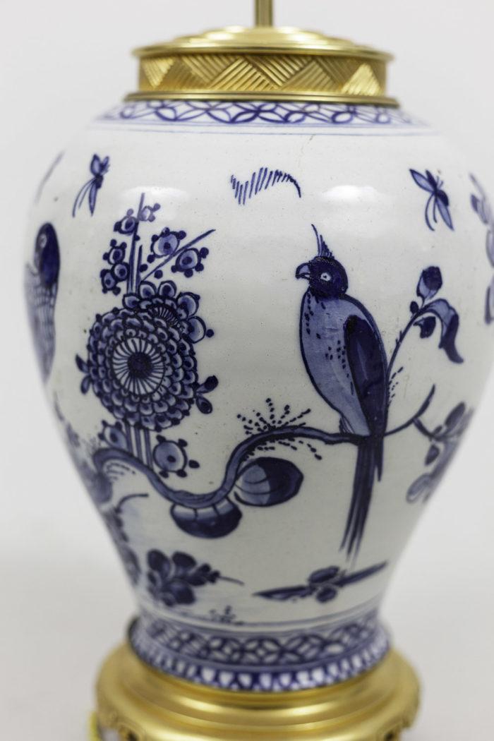 lamps japanese porcelain vase shape