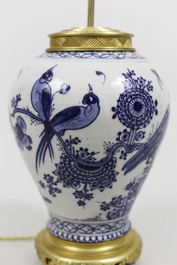 lamps japanese porcelain  bird