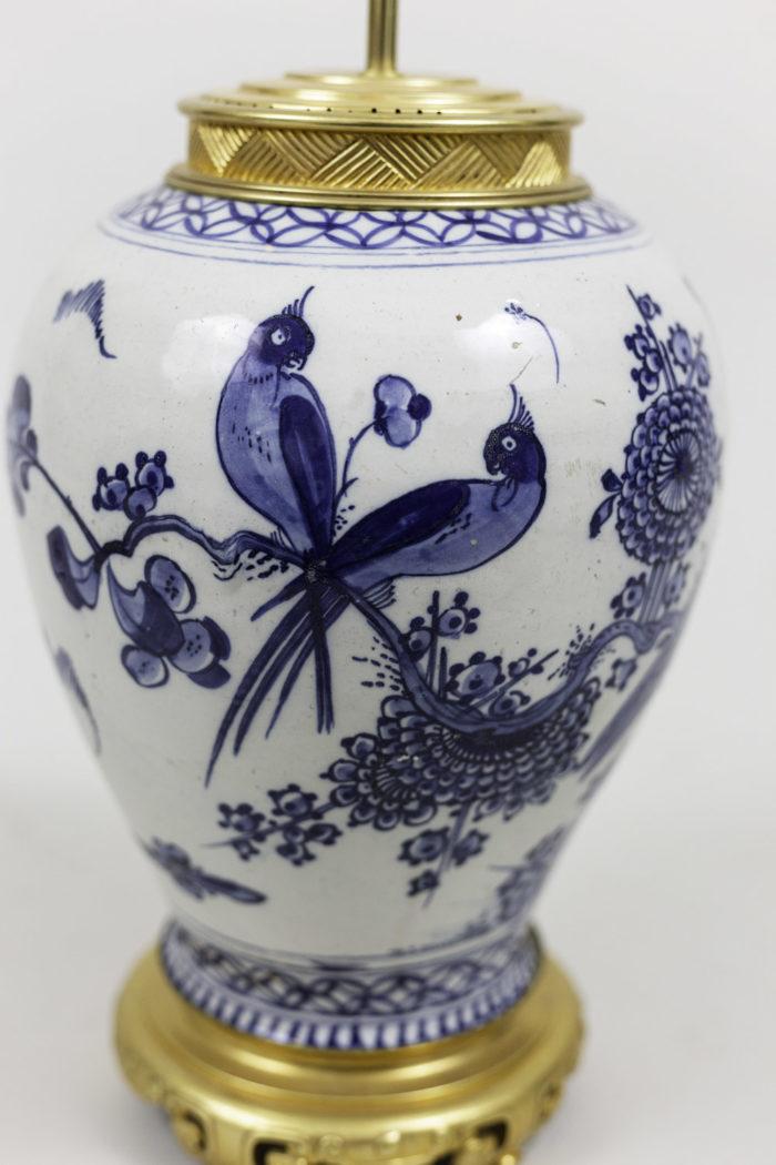 lamps japanese porcelain birds