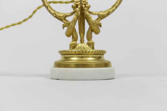 lamps louis xvi style gilt bronze base