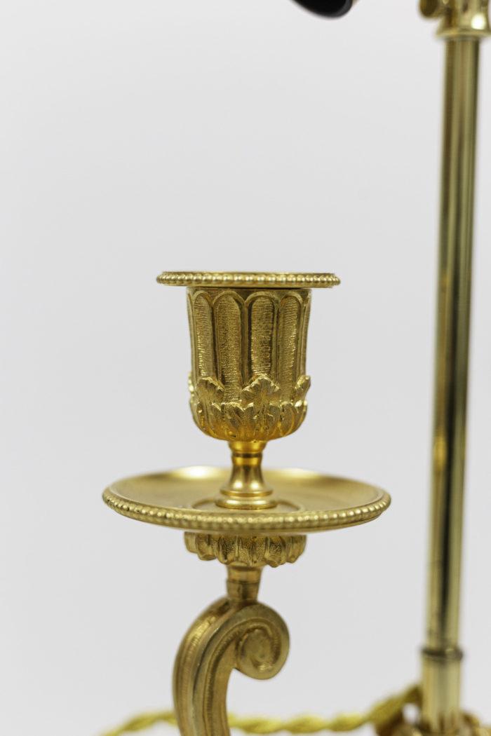 lamps louis xvi style gilt bronze bobeche