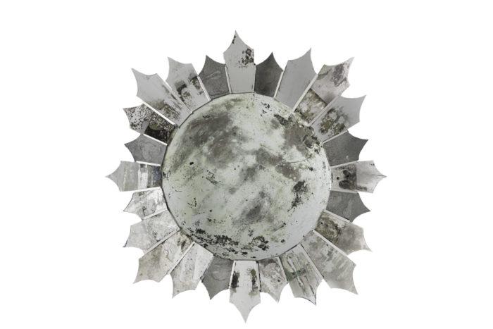 miroir étoile oxydé