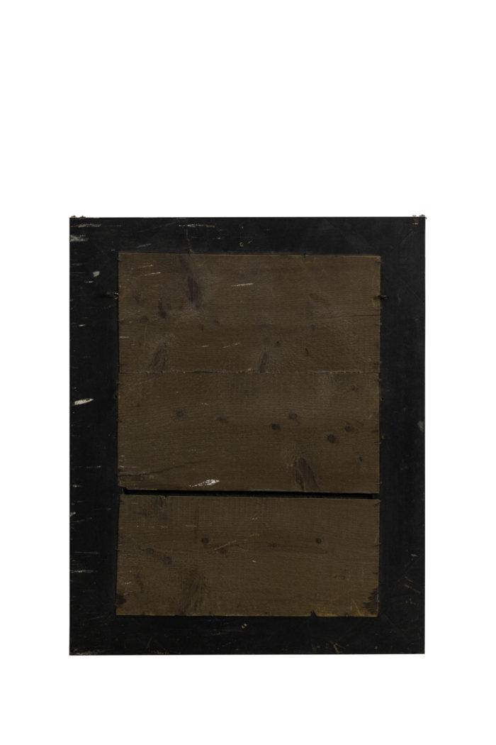 miroir gravé style louis xiv bronze doré dos