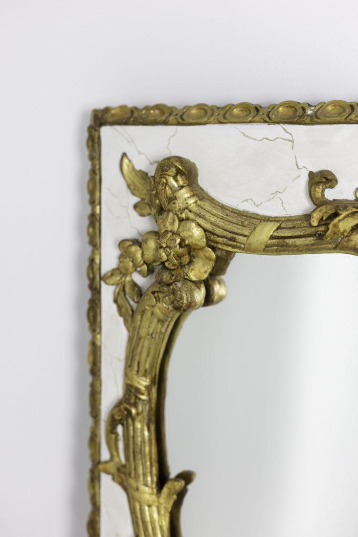 miroir style louis xv décor rocaille