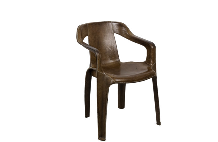 sol&luna armchair brown leather
