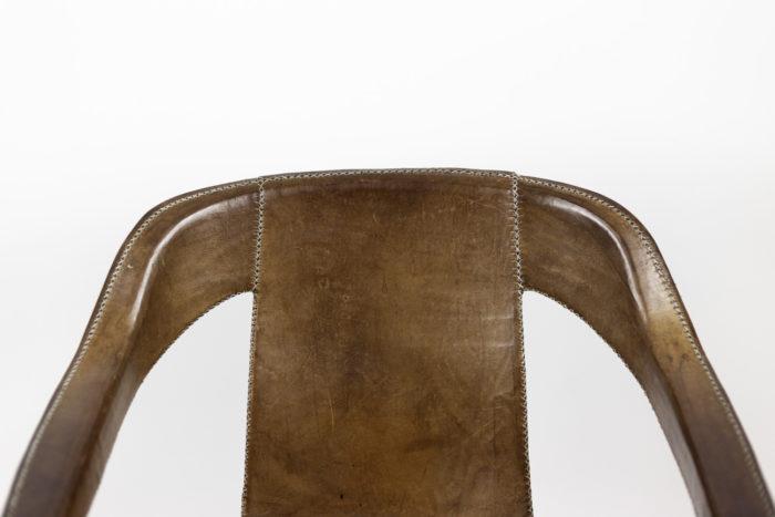 sol&luna fauteuil cuir marron dossier 2