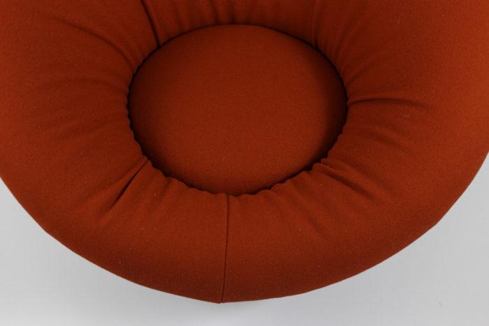 fauteuil mushroom style pierre paulin assise