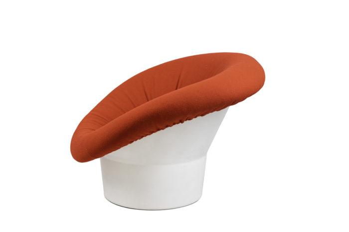 fauteuil mushroom style pierre paulin side