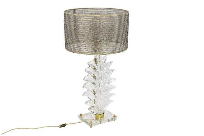 lampes fougère verre murano