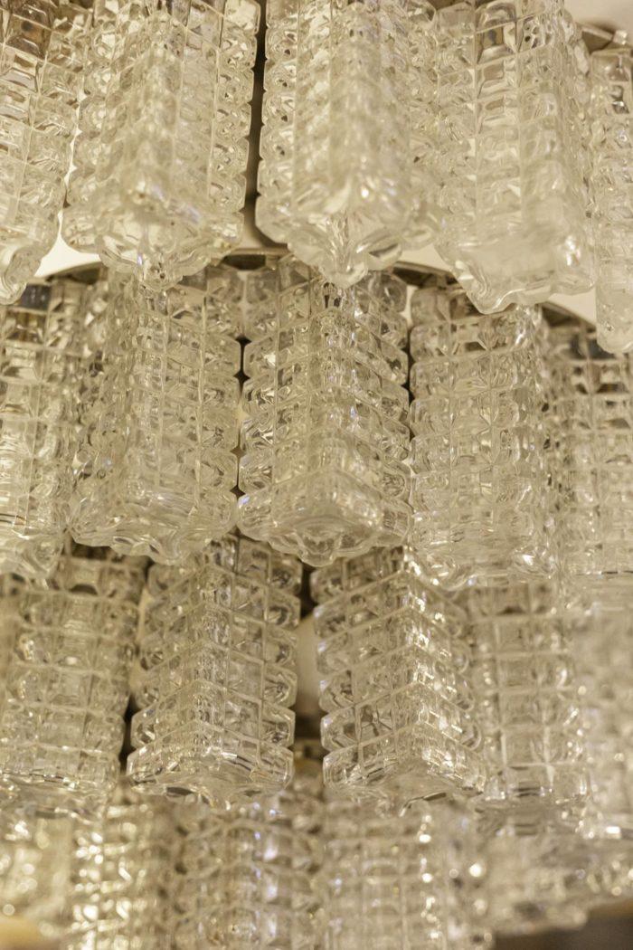 italian chandelier glass diamond