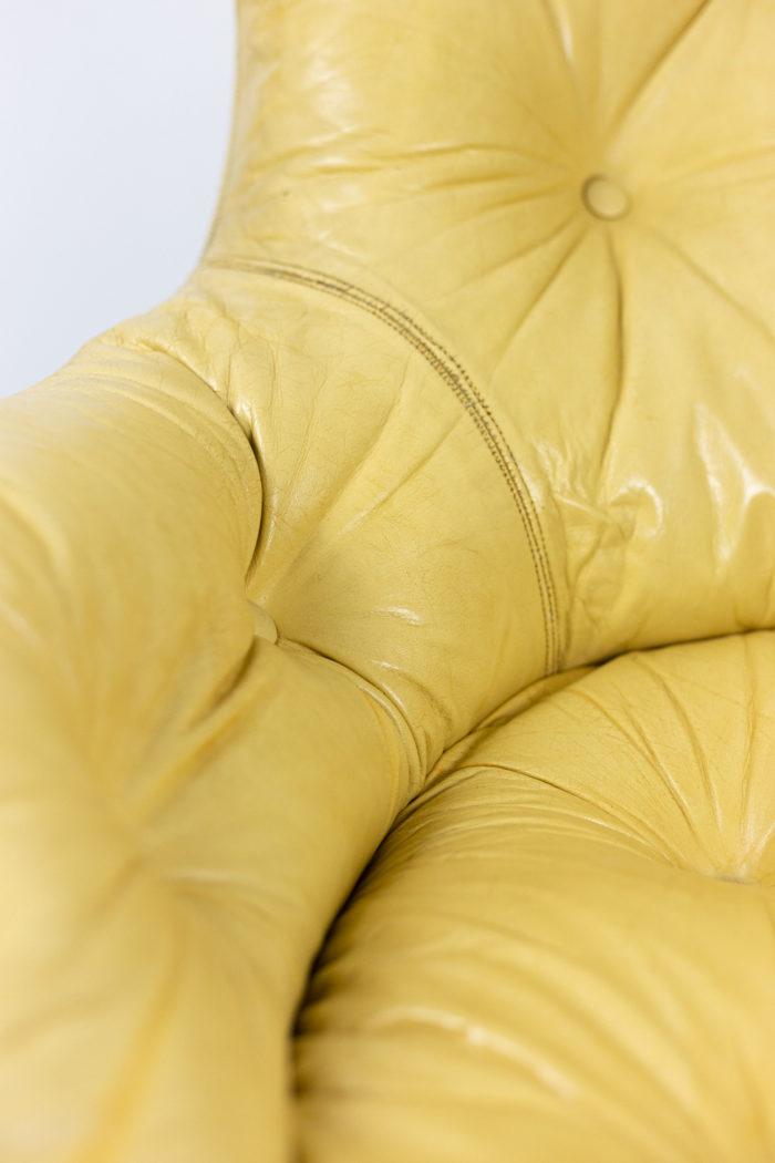michel cadestin fauteuil karaté détail