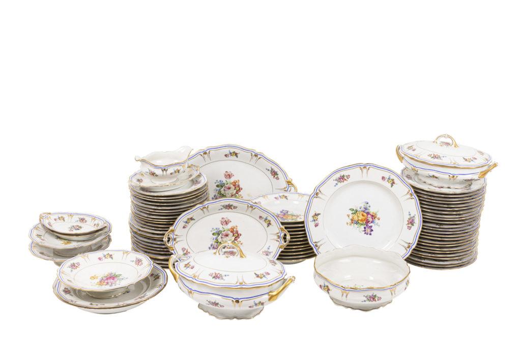 Service en porcelaine de Limoges, 1927-1948