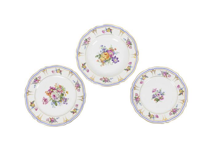 service porcelaine limoges pallas france assiettes