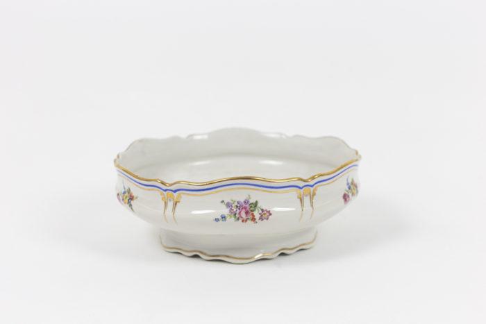 service porcelaine limoges pallas france légumier