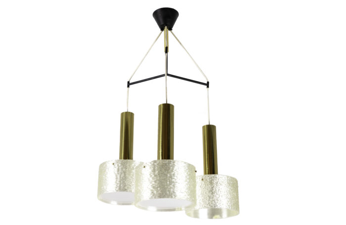 chandelier granite resin gilt brass