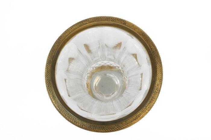 medici vase cut crystal gilt bronze mount