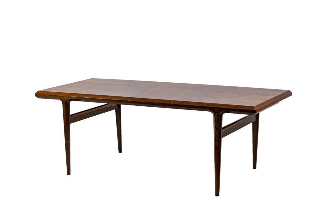Johannes Andersen, Table basse en palissandre, années 1960