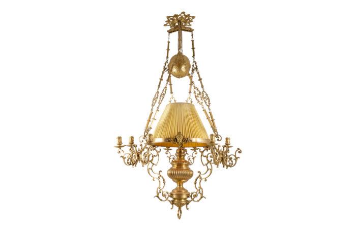 suspension napoléon iii bronze doré