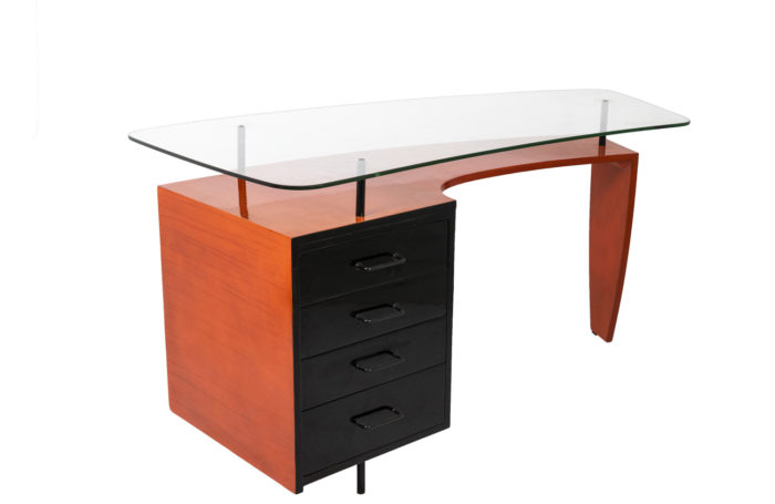 Lacquered wood desk 1