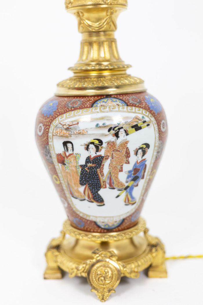 Lamp in Samson porcelain 3