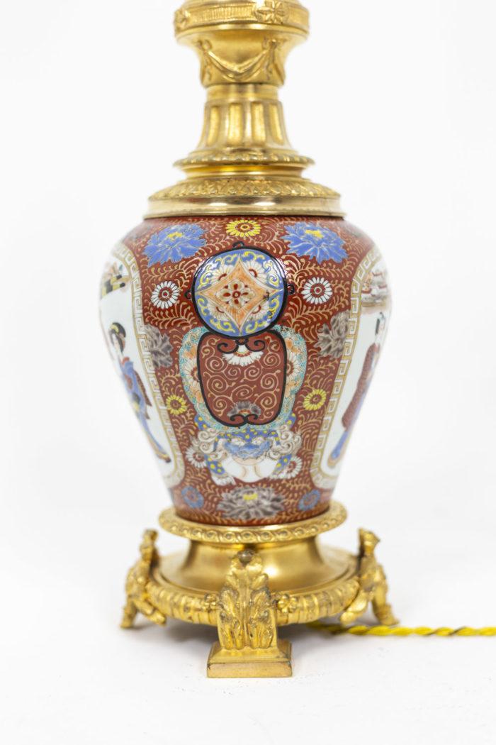 Lamp in Samson porcelain 5