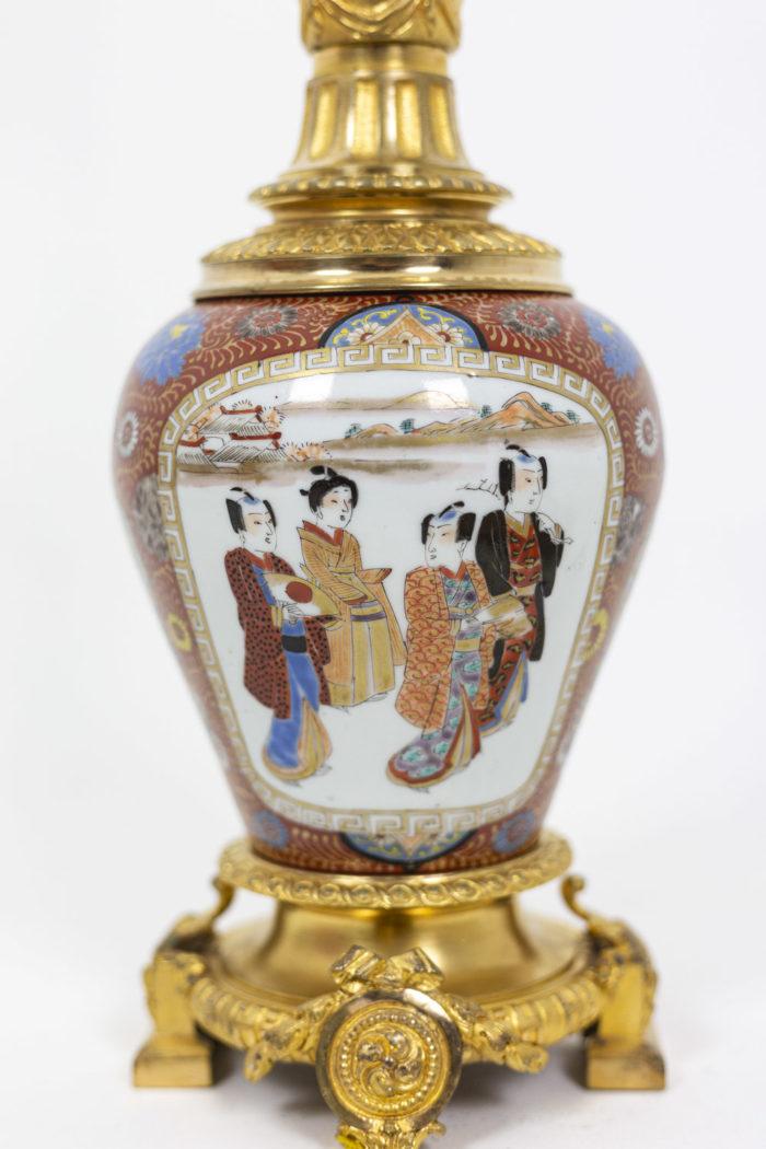 Lamp in Samson porcelain 4