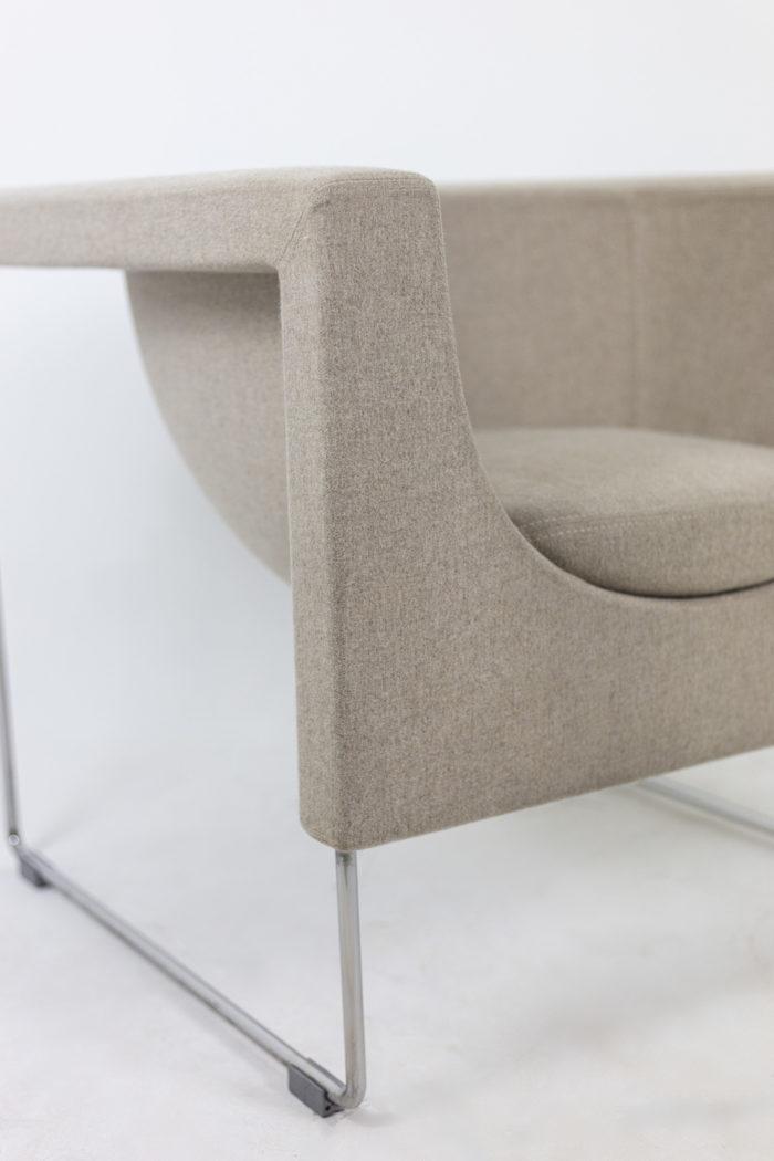 Pair of Nube armchairs 7