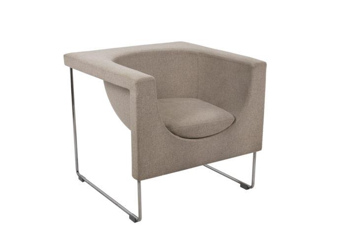 Pair of Nube armchairs 2