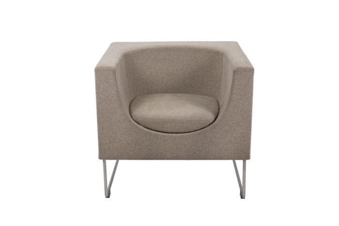 Pair of Nube armchairs 5