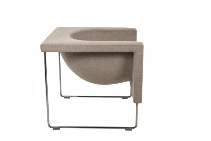 Pair of Nube armchairs 4