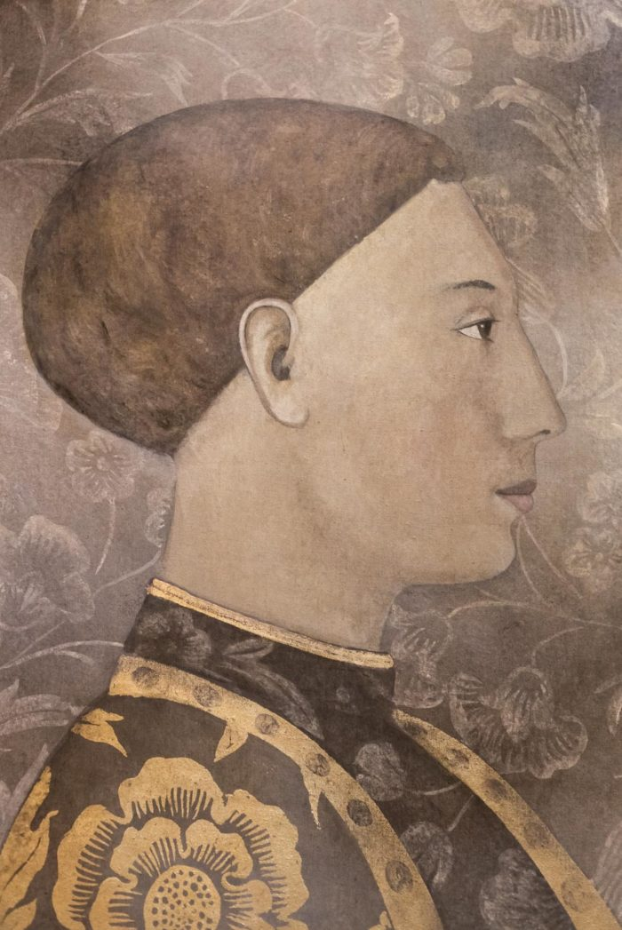 Toile portrait homme renaissance buste